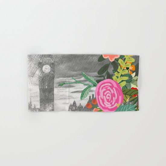 Flowers bouquet #13 Hand & Bath Towel