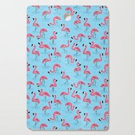 Flamingos Cutting Board