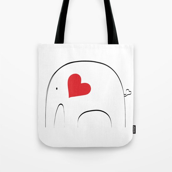 Japanese Elephant 2 Tote Bag