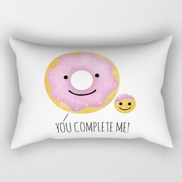 You Complete Me Rectangular Pillow