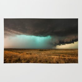 Jewel of the Plains - Storm in Texas Rug