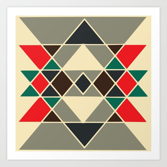 Tribal #2 Art Print