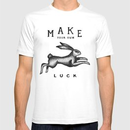 MAKE YOUR OWN LUCK (Coral) T-shirt