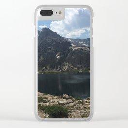 Bluebird Lake Clear iPhone Case