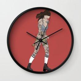 KINSHIP+TATTOO Wall Clock