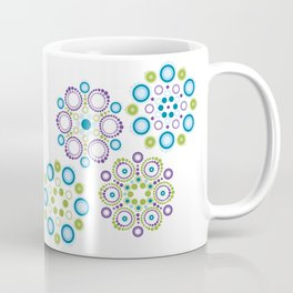 Mandala lotus flowers Coffee Mug