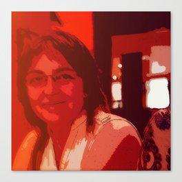 Mom's Smile Canvas Print
