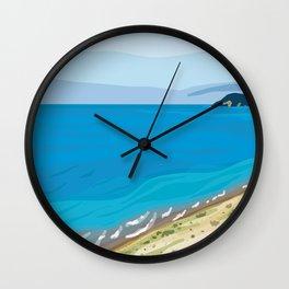 Sleeping Bear Dunes Wall Clock