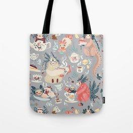 Tea Spirit pattern Tote Bag