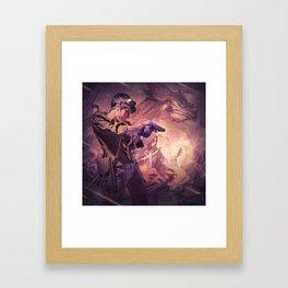 Dragons of Dorcastle Framed Art Print