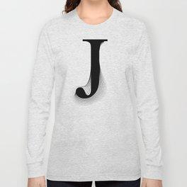 oboTypo _ J Long Sleeve T-shirt