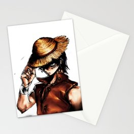 mugiwara luffy Stationery Cards