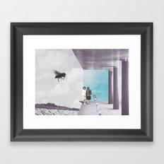 La mouche Framed Art Print