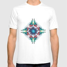 PArrot Mens Fitted Tee White MEDIUM