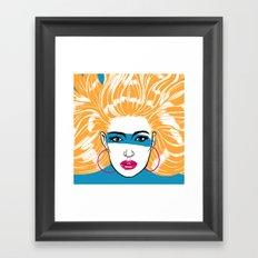 Summer Blonde '82 Framed Art Print