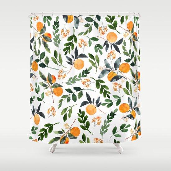 Orange Grove by greenhouseprints