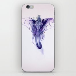 Elephant Emperor iPhone Skin