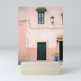 "Travel photography print ""Pastel Marrakech"" photo art made in Morocco. Warm colored. Art Print Mini Art Print"