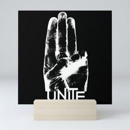 Unite Mockingjay Mini Art Print