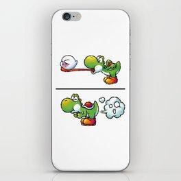 Farting Yoshi Green iPhone Skin