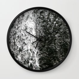 La Coca, El Yunque Rainforest in Puerto Rico waterfall Wall Clock