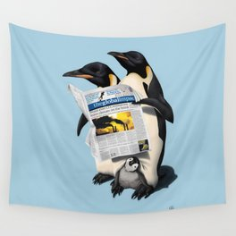 Read All Over (Colour) Wall Tapestry