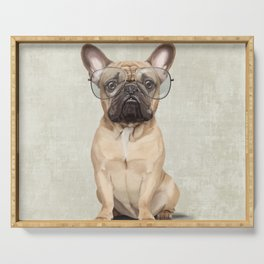 Mr French Bulldog Serving Tray