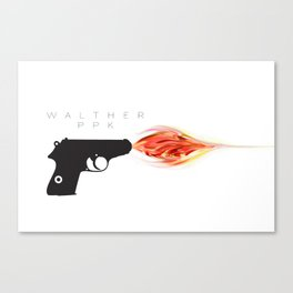 Walther PPK Canvas Print