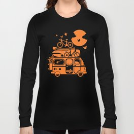 Funny family vacation camper Long Sleeve T-shirt