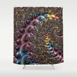 feather fern Shower Curtain