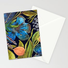 Tropic nuit Stationery Cards
