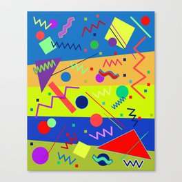 Memphis #59 Canvas Print