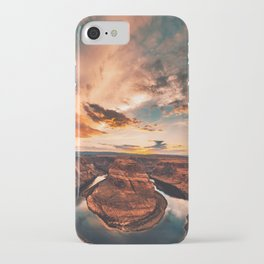 horse shoe bend canyon iPhone Case
