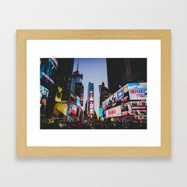 New York City 83 Framed Art Print
