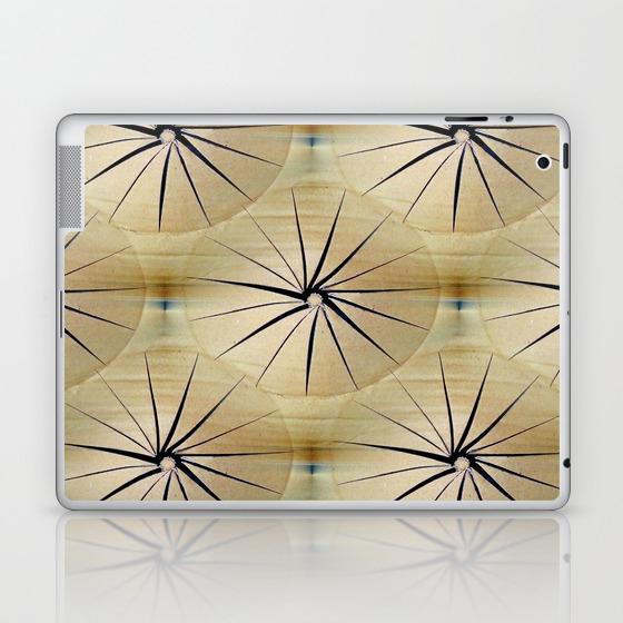 Paper Parasols Laptop & iPad Skin by artisimo (LSK7740657) photo