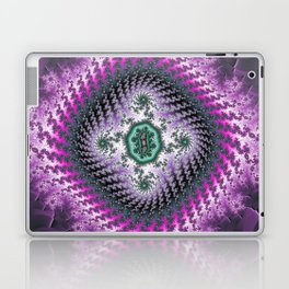 Fractal Embroidery Laptop & iPad Skin