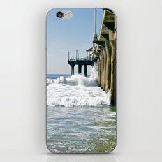 Manhattan Beach Pier iPhone & iPod Skin