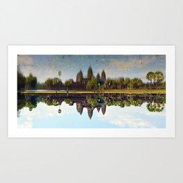 Cambodia Angkor Art Print
