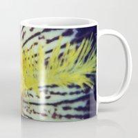 iris Mugs featuring Iris by KunstFabrik_StaticMovement Manu Jobst