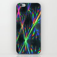 hologram iPhone & iPod Skins featuring Laser Paper by Griffin Lauerman