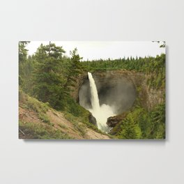 Helmcken Falls Metal Print