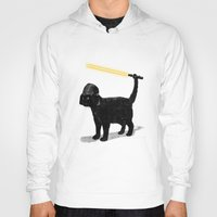 cartoon Hoodies featuring Cat Vader by nicebleed