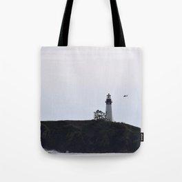 Yaquina Head/ Coast Guard Tote Bag