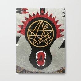 #10 ~ Face Series Metal Print
