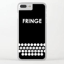 Fringe 01 Clear iPhone Case
