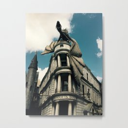 Gringotts Bank Metal Print