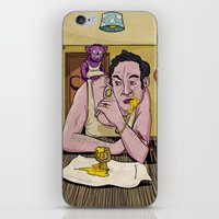 egg iPhone & iPod Skins featuring Egg by Lee Grace Illustration