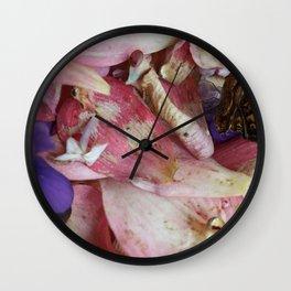 Fading Spring Wall Clock