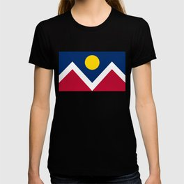 Denver, Colorado city flag - Authentic High Quality T-shirt