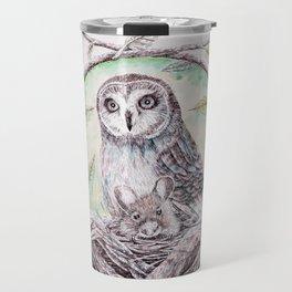 Owl Caregiver Travel Mug